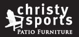 Christy Sports - Patio Furntiure